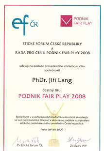 Certificate FairPlay_2008