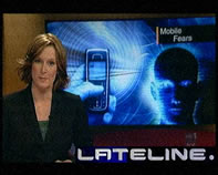 ABC Lateline Mobile Radiation Report