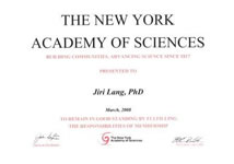 NY Academy of Sciences